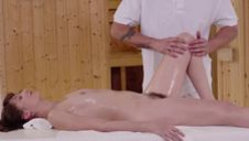 Highly erotic fuck show on the massage table - video 2
