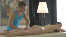 Romantic knead turns naughty - video 3