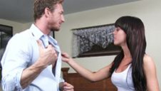 Slutty GF and a muscled guy - video 2