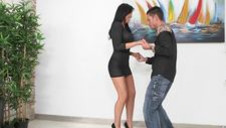 Making out with a filthy Latina model - video 3