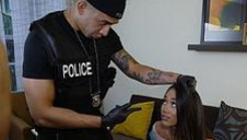 Officers two-bagger another bimbo - video 4