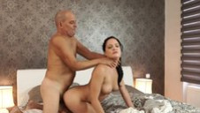DADDY4K. Old daddy uses opportunity to have intercourse...