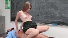 A striking innocent-looking college whore with the body of goddess