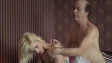 Young girl seduces old man she gets fucked sweet tight pussy